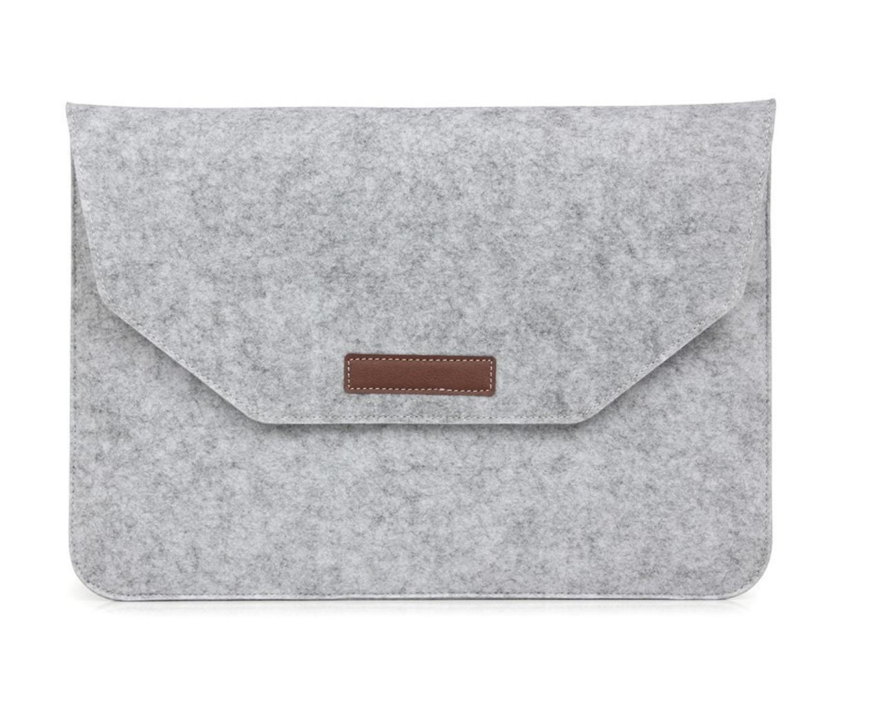 "Чохол-конверт з фетру для Macbook Air/Pro 13,3"" - сірий"