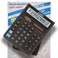 Калькулятор 12-разрядный SDC-888T Citizen черный, T