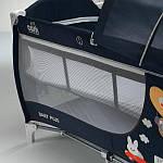 Манеж-ліжечко CAM DAILY PLUS серый, фото 3