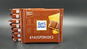 "Шоколад ""Ritter Sport"" Knusperkeks с крекером 100г"