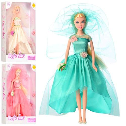 DEFA кукла 8341 невеста 29см 3 вида в кор-ке 20 5-32-5см
