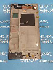 Модуль ( сенсор с дисплеем ) lenovo K900 Original б.у, фото 2