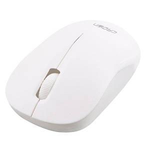 Мышь компьютерная беспроводная Crown CMM-951W white, фото 2