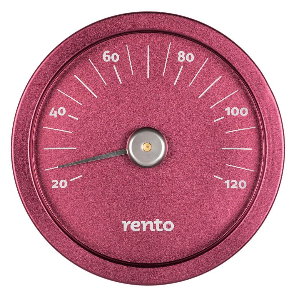 Термометр для сауни Rento алюміній брусниця 263793