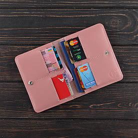 Обложка на паспорт v.2.0. Fisher Gifts STANDART пудра (кожа)