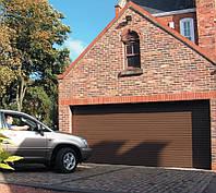 Ворота гаражные рулонные, роллетные Alutech, 3500х2000 профиль AG77 накладной монтаж