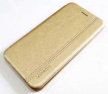 Чехол книжка Momax New для iPhone XS Max Золотистый
