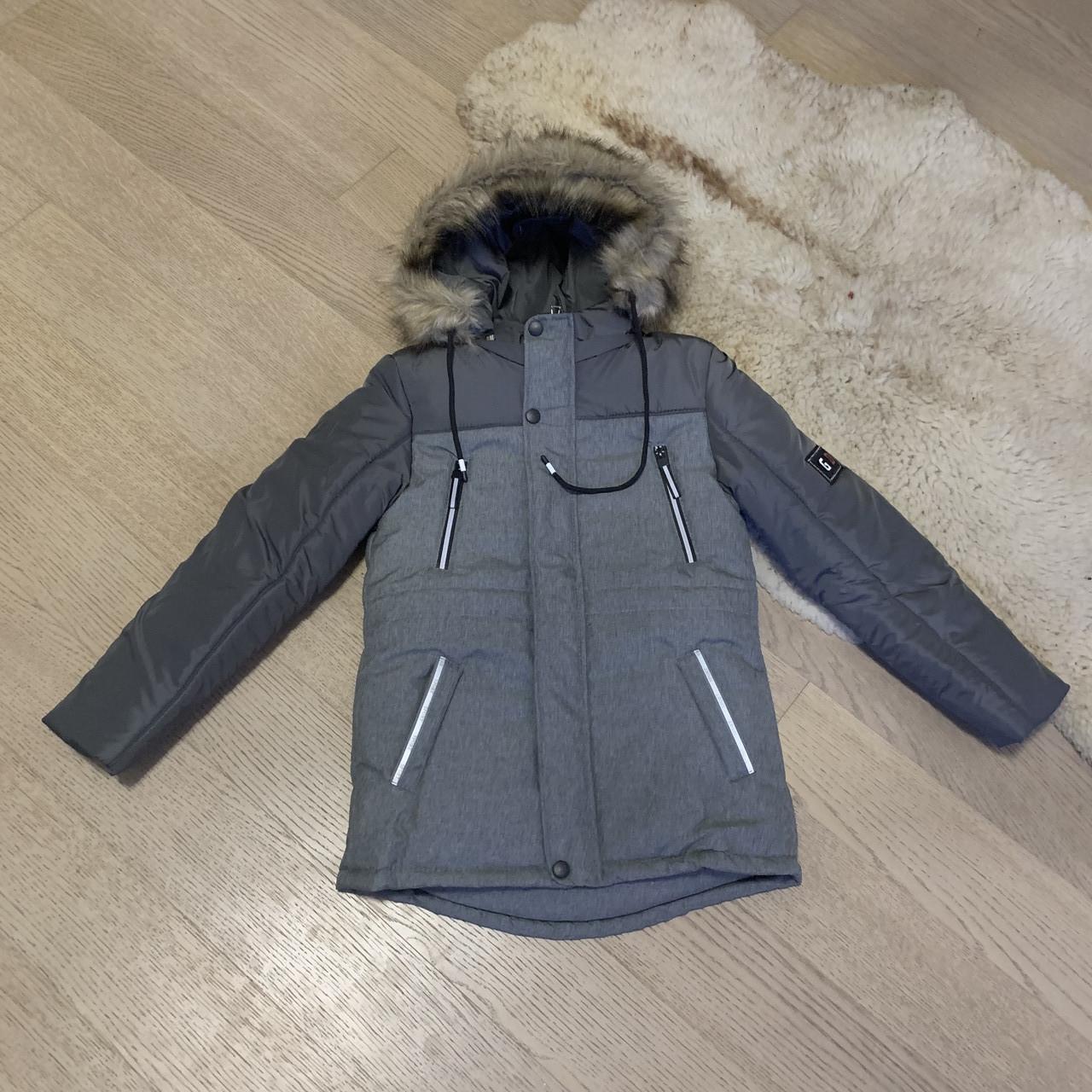 Зимняя куртка на мальчика 8-12 лет