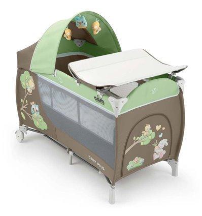 Манеж-ліжечко CAM DAILY PLUS зеленый
