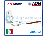 Icma термоголовка с выносным датчиком.