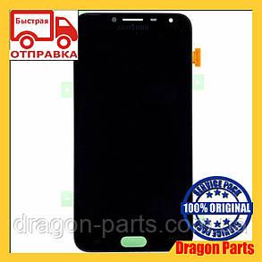 Дисплей Samsung J4 Galaxy J400 2018 Чёрный Black GH97-21915A, оригинал, фото 2
