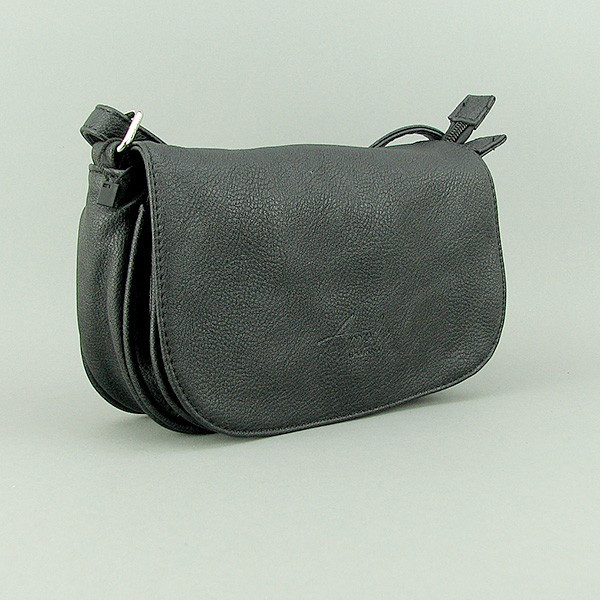 Сумка-клатч женская черная Ameli 25578