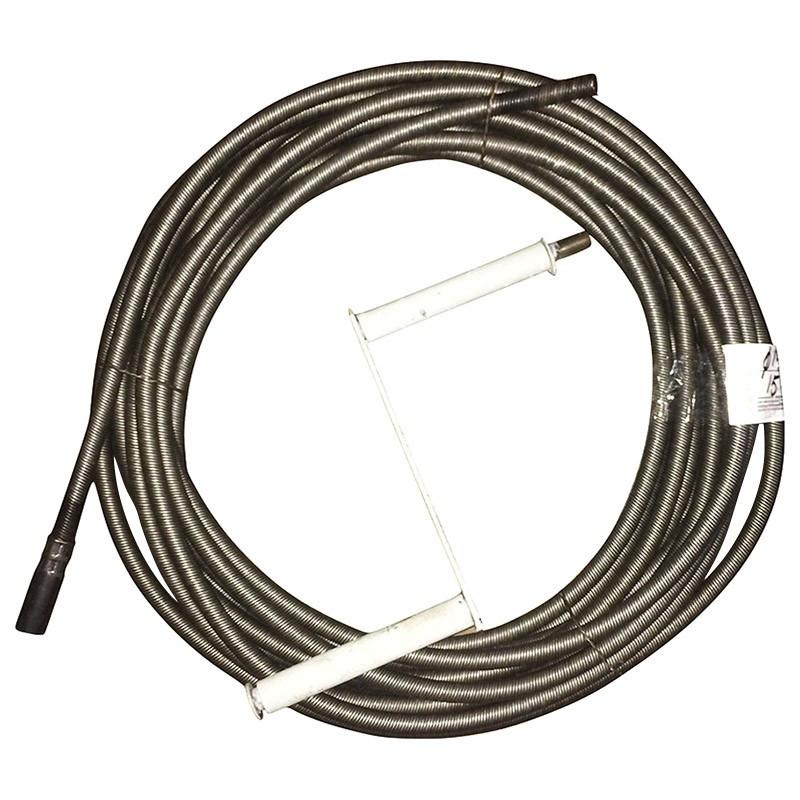Трос сантехнический (трос канализационный), диаметр - 10 мм. Любая длина