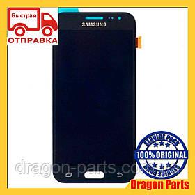 Дисплей Samsung J200 Galaxy J2 с сенсором Черный Black оригинал , GH97-17940C