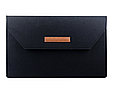 """Чохол-конверт з фетру для Macbook 12/ Air11.6"""" - чорно-сірий, фото 2"""
