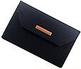 """Чохол-конверт з фетру для Macbook 12/ Air11.6"""" - чорно-сірий, фото 5"""