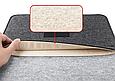 """Чохол-конверт з фетру для Macbook 12/ Air11.6"""" - чорно-сірий, фото 6"""