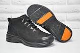 Мужские повседневные зимние ботинки натуральный нубук Prime, фото 2