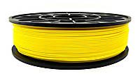 PLA пластик для 3D печати,1.75 мм, 0.75 кг 3DPLAST Жовтий
