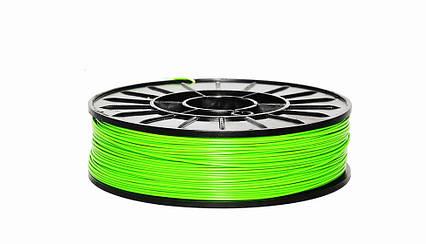 PLA пластик для 3D печати,1.75 мм, 0.85 кг Салатовий