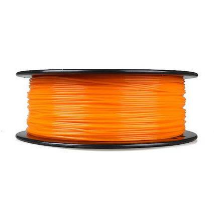 PLA пластик для 3D печати,1.75 мм, 0.85 кг Помаранчевий