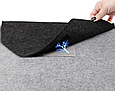 Чехол-конверт из фетра для Macbook 12/  Air11.6'' - темно серый, фото 5