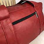 Спортивная сумка мужская женская Reebok дорожная сумка кожзам, фото 9