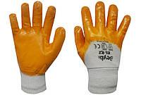 Перчатки трикотажные с неполным нитриловым покрытием, фото 1