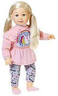 Кукла Baby Born Беби Борн старшая сестра Салли 63 см Sally blond Zapf Creation 877654