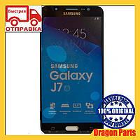 Дисплей Samsung J710 Galaxy J7 с сенсором Черный Black оригинал , GH97-18855B