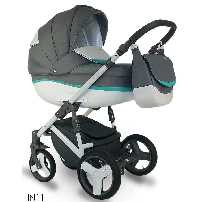 Детская универсальная коляска 2 в 1 Bexa Ideal New 2 в 1