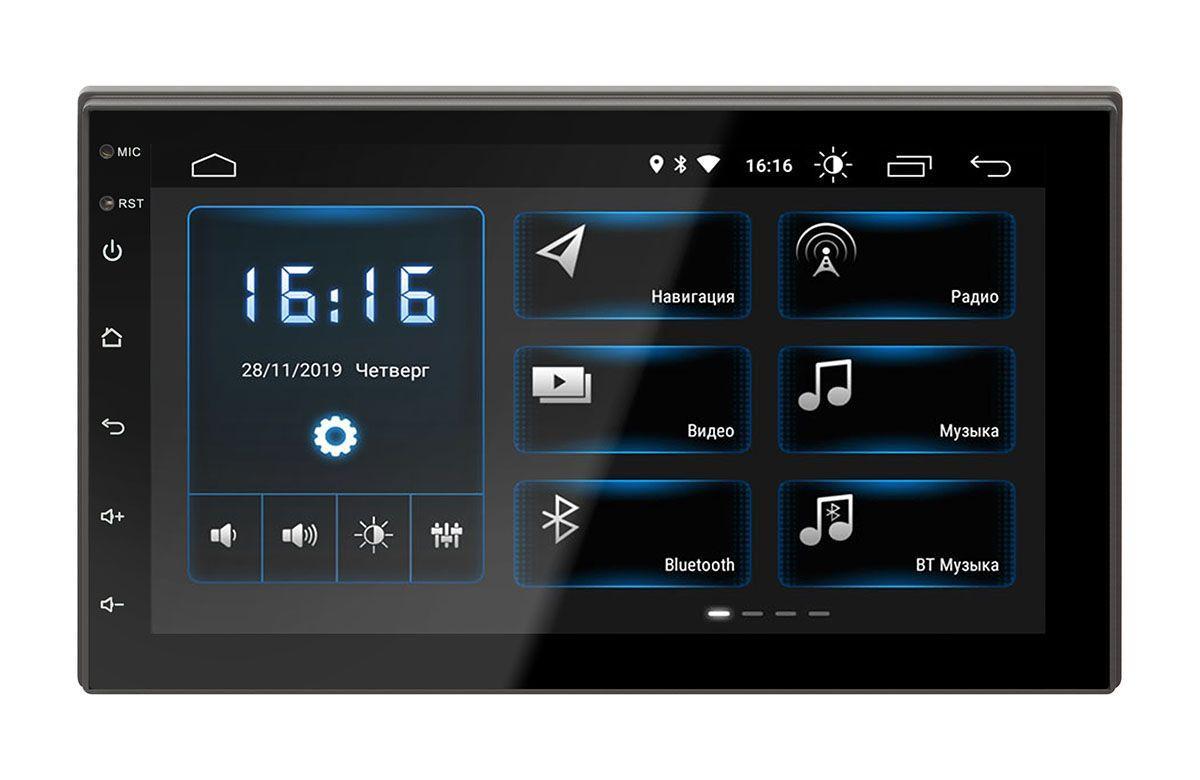 Универсальная Автомагнитола Incar DTA-7707 DSP Android