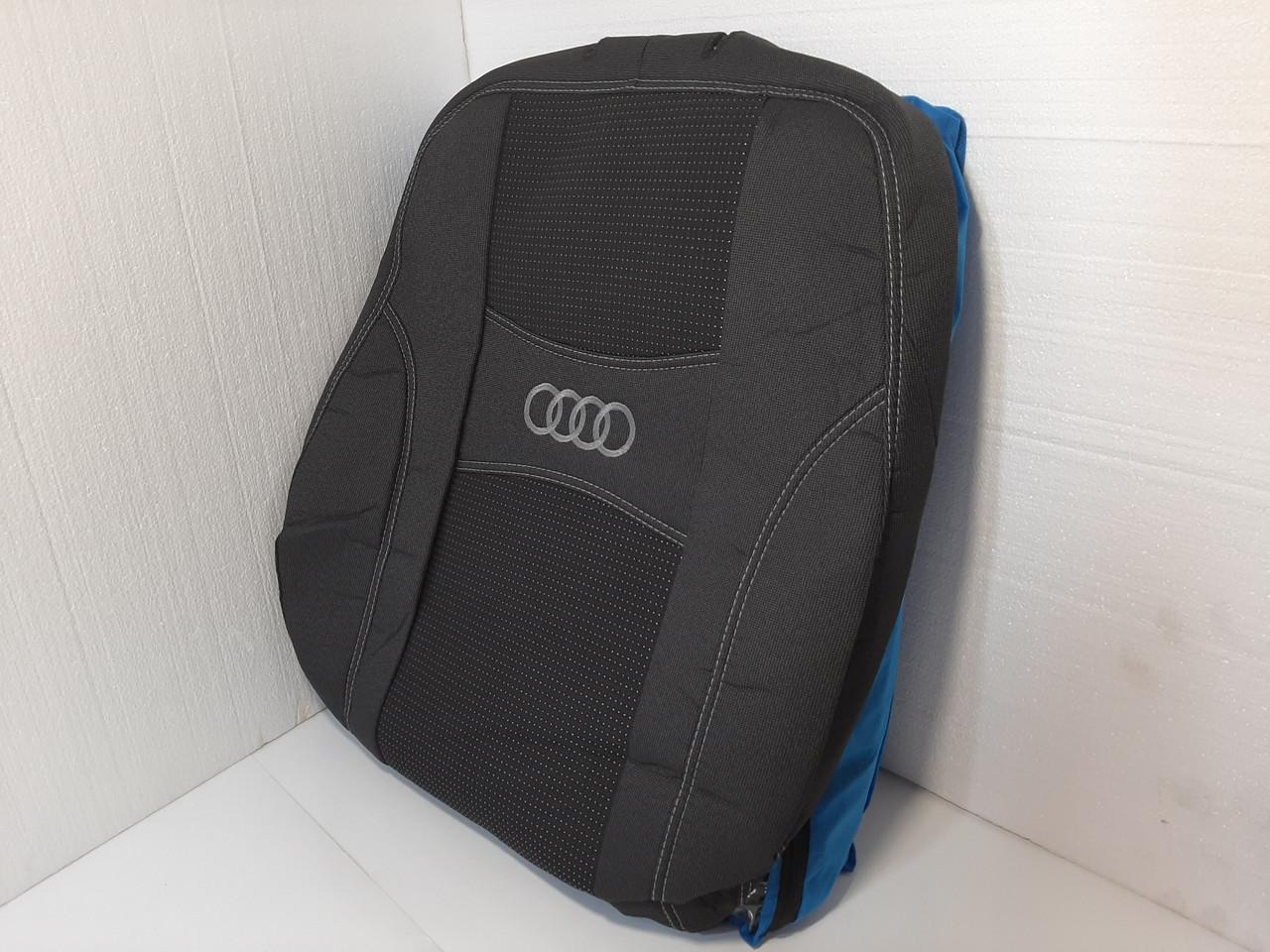 """Чехлы на сиденья Ауди 100 (C4) 1990-1997 / автомобильные чехлы Audi 100 (C4) """"Nika"""""""