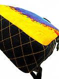Джинсовый рюкзак Я УКРАЇНА, фото 3