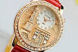 Жіночі годинники GoGoey,чорний ремінець, фото 2