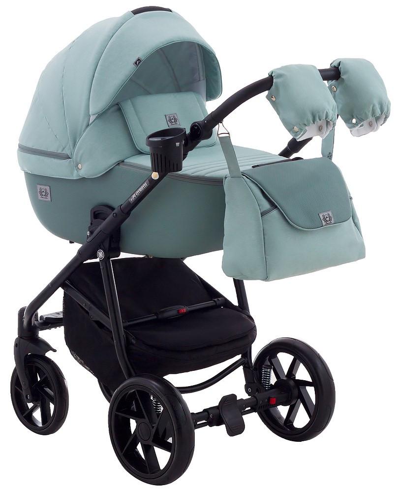 Детская универсальная коляска 2 в 1 Adamex Hybryd Plus BR251
