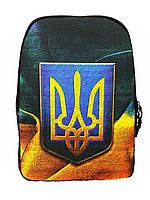 Джинсовый рюкзак ТРИЗУБ, фото 1