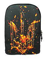 Джинсовый рюкзак ФЕНІКС, фото 1