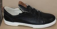 Кеды мужские кожаные от производителя модель ДР1224, фото 1