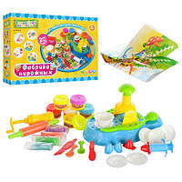 Набор для лепки Фабрика пирожных MK 0433 детское творчества пластилин