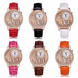 Жіночі годинники GoGoey, ремінець білого кольору, фото 4