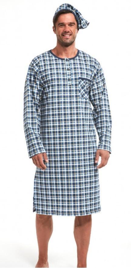 Мужская ночная рубашка CORNETTE PM-110  640104. Размеры 3ХЛ - 5ХЛ