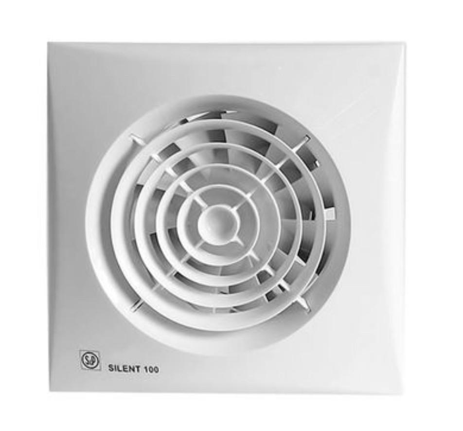Вентилятор для ванной Soler&Palau SILENT-100 CZ 12V