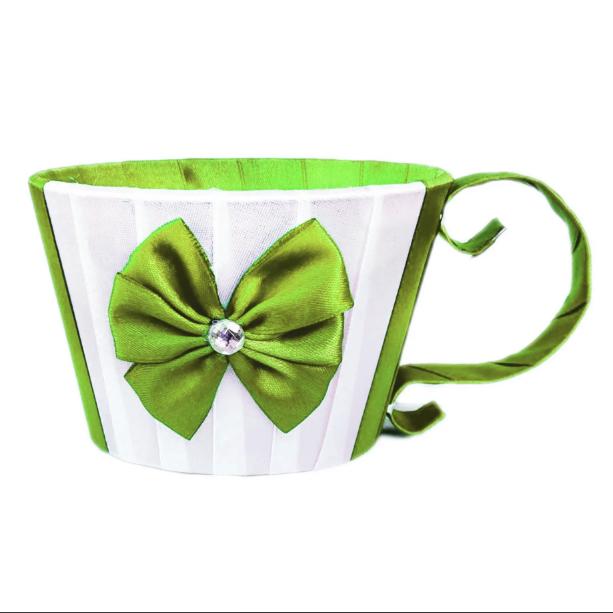 Чашка из атласа, хаки (8.5х12 см)