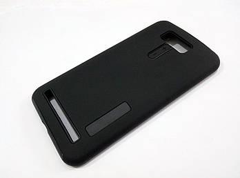 Чехол противоударный Dual Pro для Asus Zenfone 2 Laser ze550kl / ze551kl поликарбонат черный