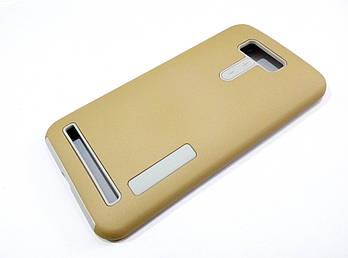 Чехол противоударный Dual Pro для Asus Zenfone 2 Laser ze550kl / ze551kl поликарбонат золотой