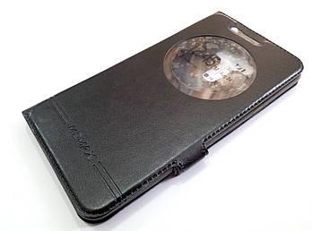 Чехол книжка с окошком momax для Asus Zenfone 3 Laser ZC551KL черный