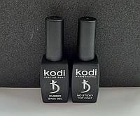 База и топ Коди (Rubber Base Kodi 12 ml + Rubber Top Kodi no sticky 12 ml \Топ Коди без липкого слоя 12 мл)
