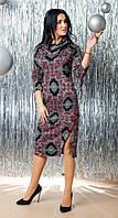 Модное платье женское с узором
