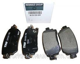 Комплект задних тормозных колодок на Рено Каджар / Renault (Original) 440605889R